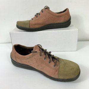 Klogs Suede Leather Oxfords Wm Sz 9.5 Shoes